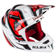 Red/White/Black F4 Radar Helmet