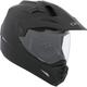 Matte Black Quest Snow Helmet