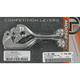Competition Lever Set w/Black Grip - M557-23-20