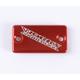 Anodized Billet Aluminum Front Brake Reservoir Cover - 21-035