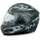 FX-90 Shade Black/Red Helmet