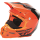 Flo Orange/Black F2 Carbon Pure Cold Weather Helmet