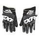 Black X Cross Gloves
