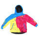 Childs Blue/Fuchsia/Yellow Vertical Jacket