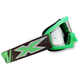 Youth Liquid Fluorescent Green X-Grom Goggles - 067-30170
