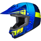 Youth Blue/Neon Green CL-XY 2 Cross-Up MC-2H Helmet