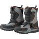 Black/Gray Mech Boots