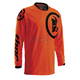 Flo Orange/Black Phase Gasket Jersey