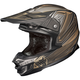 Matte Black/Gray/Gold MC-5F FG-X Legendary Lucha Helmet