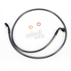 Black Pearl Designer Series 35 Degree Top Angle Custom Single-Disc Front Brake Line - 46146SW
