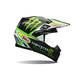 Black/Green Moto-9 Carbon Flex Monster Energy Pro Circuit Replica Helmet