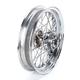 Chrome Rear 16 x 3.5 40-Spoke Laced Wheel Assembly - 0204-0372