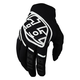 Youth Black/White GP Gloves