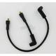 Custom Suppression 8.8mm Black Plug Wire Set - 172072K