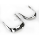 Chrome Front 2-Piece Fender Tip - N7044