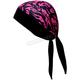 Mini Pink Flames Stretch Headwrap - BNDNA003-26