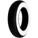 Front or Rear SR550 Whitewall 3.50-8 Scooter Tire - TWWSH08