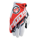 Red/White SX1 Gloves