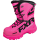 Womens Fuchsia X Cross Boots