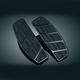 Golss Black Kinetic Traditional Driver Floorboard Inserts - 4395