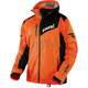 Orange/Charcoal Recoil Lite Trilaminate Jacket