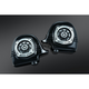 Gloss Blackk 4-OHM Lower Fairing Speakers - 895
