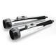 3.5 in. Chrome Tru Power Slip-On Mufflers W/Black Tips - LA-1093-02B