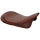 Red Faux Python Low-Profile Solo Seat - 0801-0876