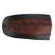Red Faux Python Fender Skin w/Black Trim - 1405-0203