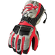 Gray/Black/Red Comp Gloves