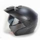 Black Graphite N40 Jet N-Com Helmet