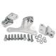 Chrome Motor Mount Kit - 0933-0012