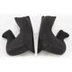 Black Cheek Pads for  AX-8 Evo Helmets