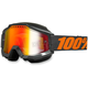 Gray Accuri Snow Goggle w/Dual Mirror Red Lens - 50213-025-02