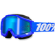 Blue Accuri Snow Goggle w/Dual Mirror Blue Lens - 50213-002-02