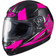 Youth Neon Pink/Black CL-Y MC-8 Striker Helmet