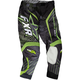 Black/Charcoal/Green Podium Star Pants