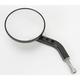 Black View Tech VII Billet Round Mirrors - 03-018L