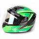 Green/Black CS-R2SN MC-4 Seca Helmet with Framed Electric Shield