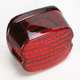 Low-Profile Panacea LED Taillight with Red Lens - 5425