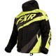 Youth/Child's Black/Hi-Viz/Charcoal Cold Cross Jacket