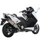 Racing Line Scooter Exhaust System w/Hexagonal Muffler - S-Y5R2-RT
