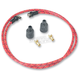 Red/Black/Yellow Cloth 7mm Spark Plug Wires - 000344-1
