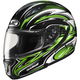 Black/Green/White MC-4 CL-Max II BT Atomic Modular Helmet