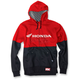 Red/Black Honda Double Zip-Up Hoody