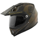 Military Green/Black Fame & Fortune SS2500 Helmet