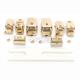 Gold Radio/Cruise Control Switch Cap Kit - 0616-0187
