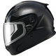 Youth Black GM49Y Snowmobile Helmet