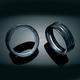 Gloss Black L.E.D. Halo Passing Lamp Trim Rings - 7271