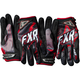 Black/Charcoal/Red Podium Star Gloves